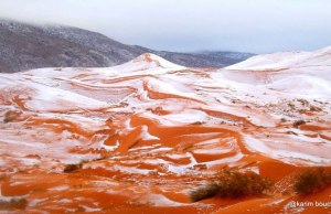 Snow in the Sahara for First Time in 40 Years