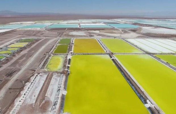 Chile's Atacama Desert Lithium Mine