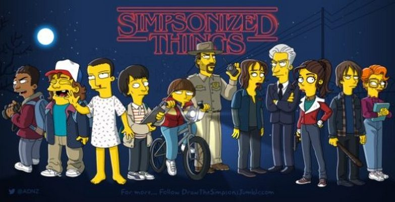 Pop Culture Characters Get Simpsonized