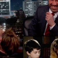 Emma Watson Embarrassed Watching 'Harry Potter' Outtake by Jimmy Kimmel