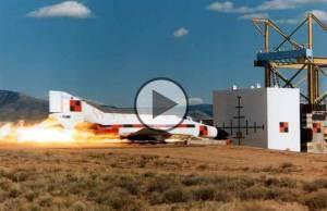 Aircraft Hits A Concrete Wall