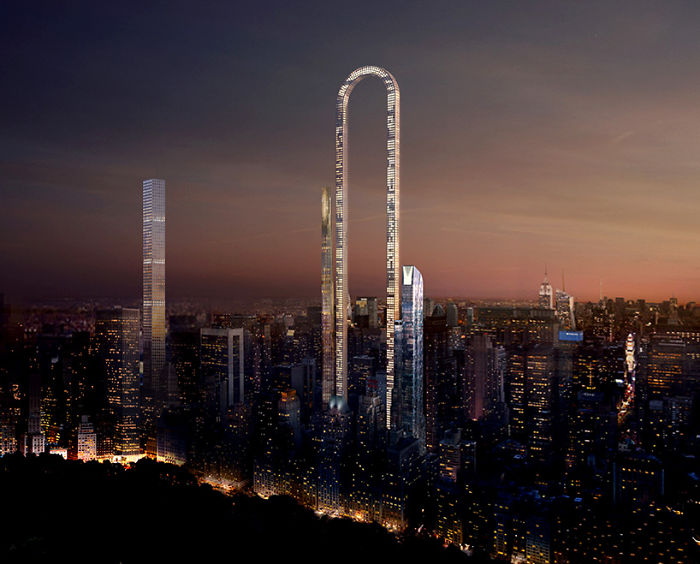 Mind Bending U-Shaped Skyscraper In New York Is Unveiled
