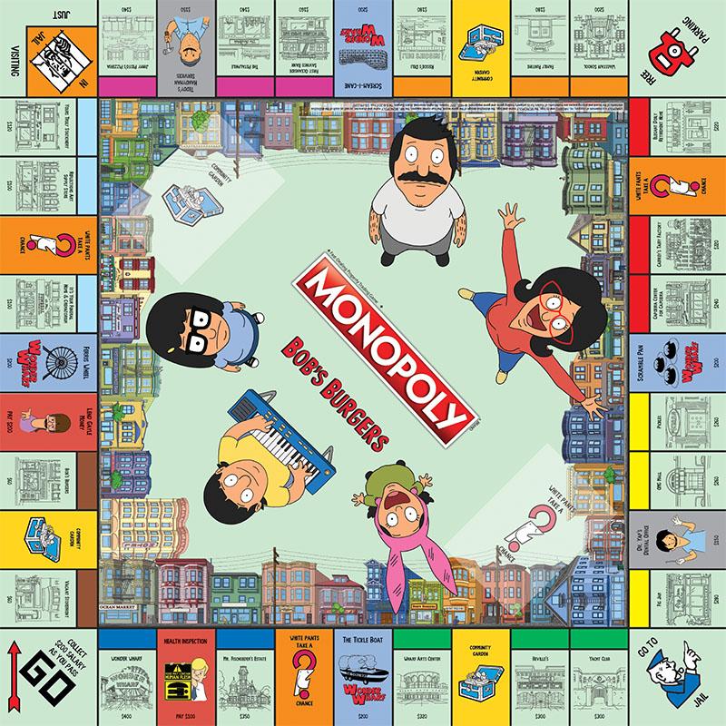 BOB'S BURGERS Special Edition Monopoly