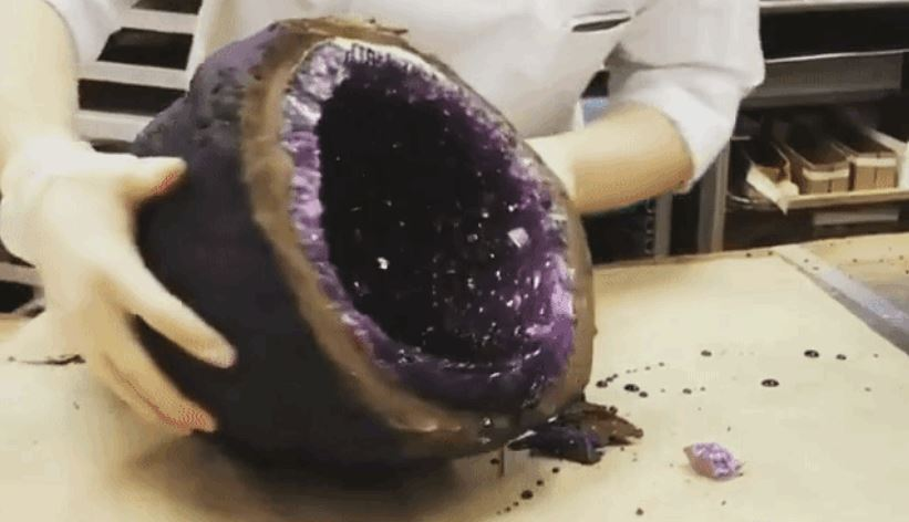 Chocolate Geodes