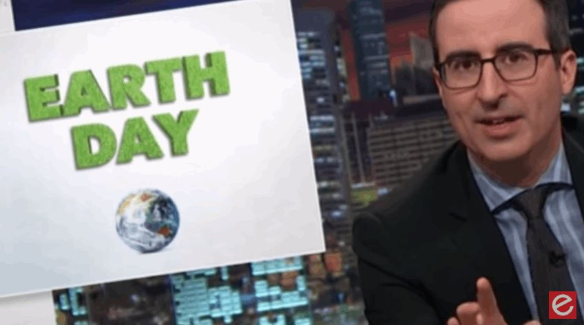 John Oliver, Earth Day, Tinder for Geese, Twitter All In One Video