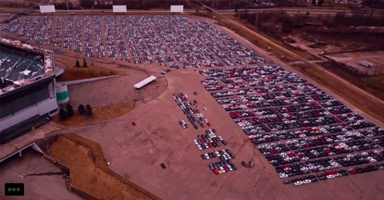 The Horrific Aftermath Of The Volkswagen Buyback - Drone Footage