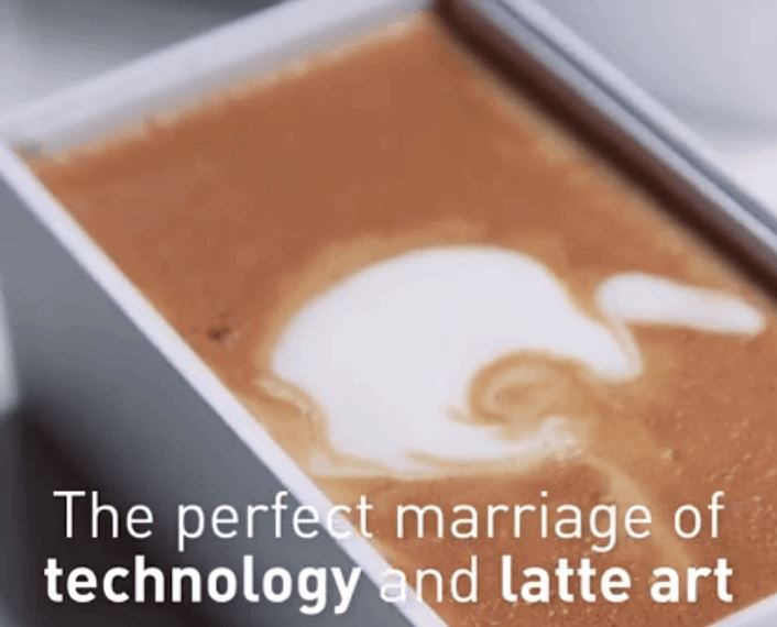 Meet The Ingenious iPhone Latte - Video