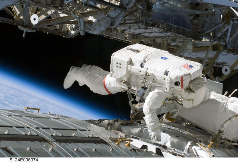 Learn How Astronauts Work Outside The ISS Moving At 17,500 MPH
