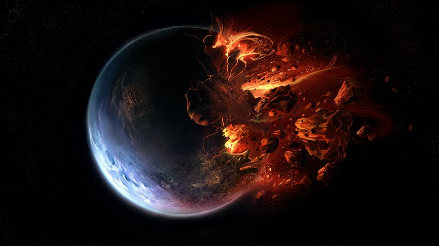 Destroyed Planet