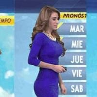 Weather Girl Yanet Garcia Makes Mexican Weather Very Hot