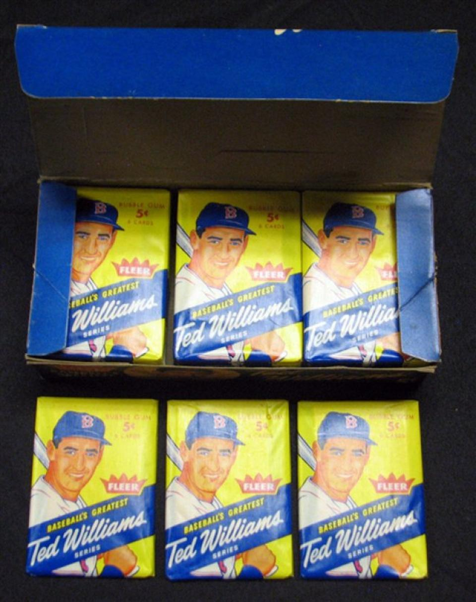 Unopened Sports Card Packs
