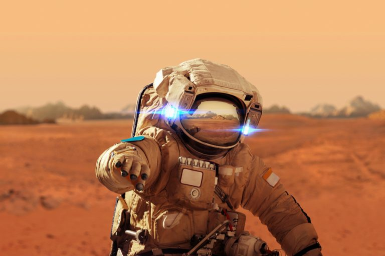 Mars-astronaut