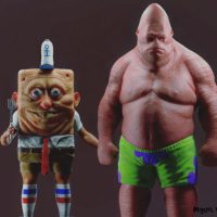 Cartoon Characters In Real Life Are Actually Horrifying