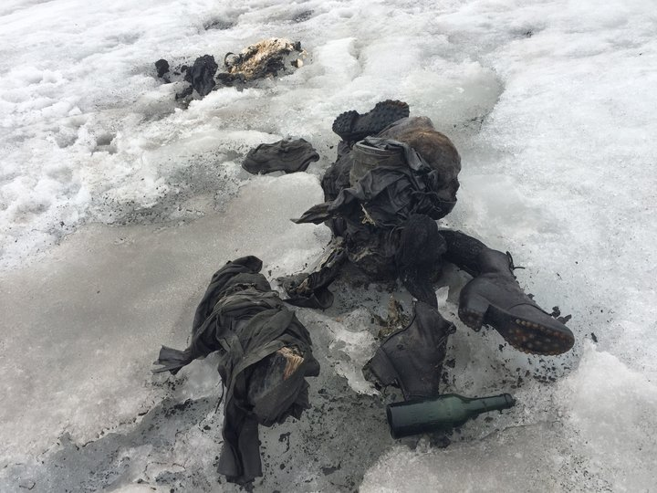 Swiss Couple Missing For 75 Years Found Frozen On Glacier
