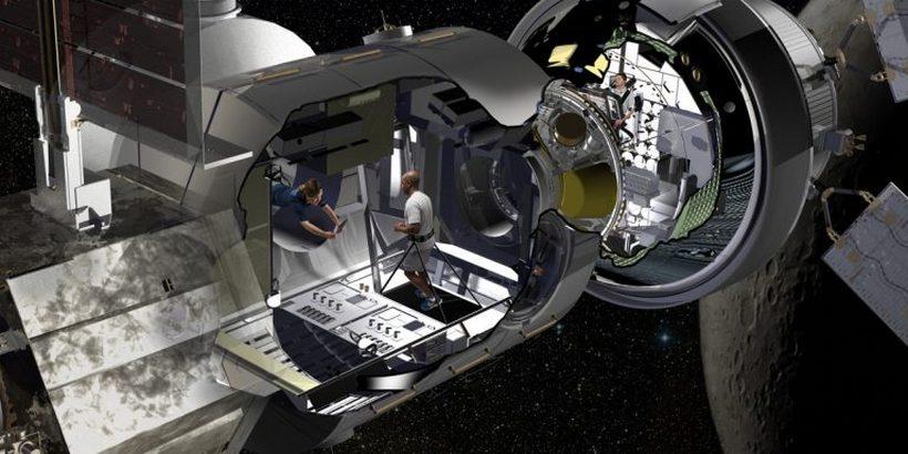 Lockheed Martin's Deep Space Habitat