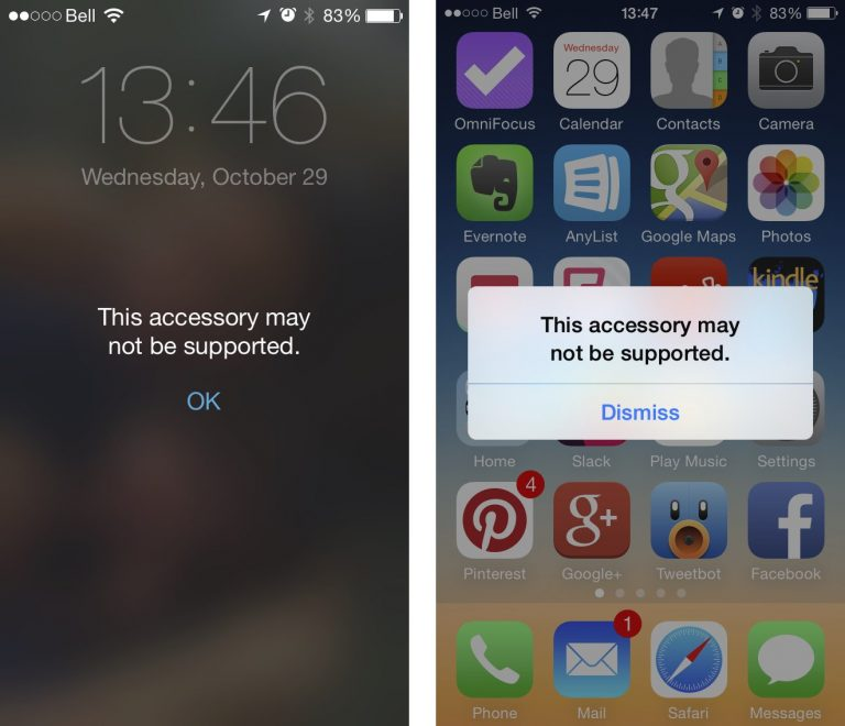 "Here Is How You Can Fix The ""Accessory May Not Be Supported"" Error Of iPhone"