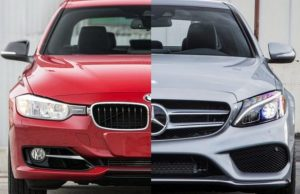 BMW And Mercedes Benz