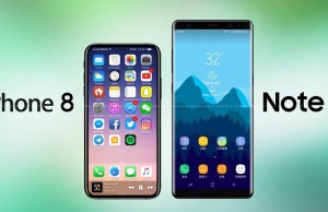 iPhone 8 Plus VS Note 8