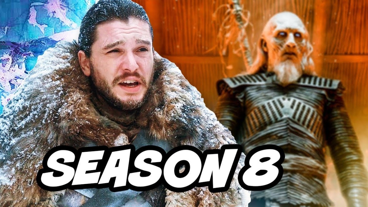 Game Of Thrones Season 8 Jon Snow vs White Walkers Q&A and BTS Promo