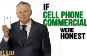 Honest cellphone ads
