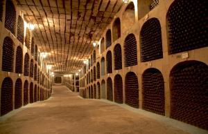 Underground City Filled With Wine