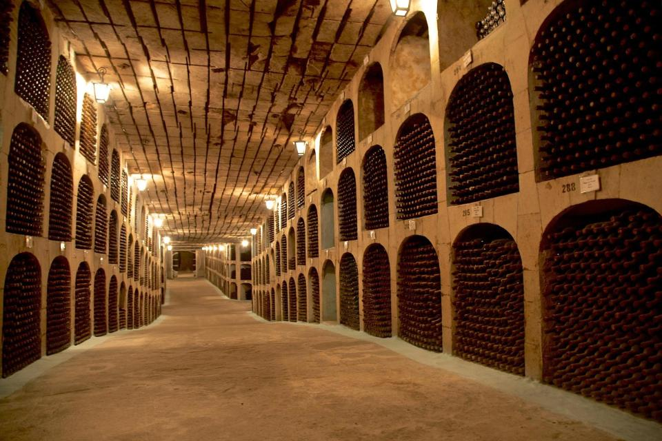 Underground City Filled With Wine