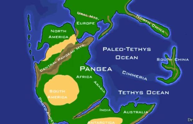 Earth 200 Million Years Ago