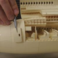 Check Out The Interior Of World's Most Complex Paper Airplane