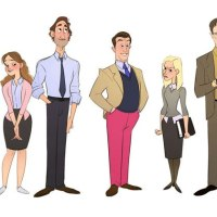 What Each Character Would Look Like in a Cartoon Version of The Office