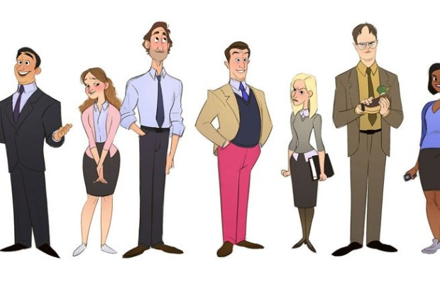 Cartoon Version of TheOffice