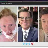 Don't Mess With 'late show lowlifes' Stephen Colbert, Jimmy Fallon, and Conan O'Brien