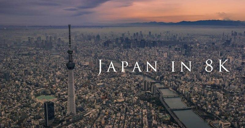8K Tour of Japan