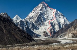 Polish Mountaineer Andrzej Bargiel Skies Down From the Top of K2