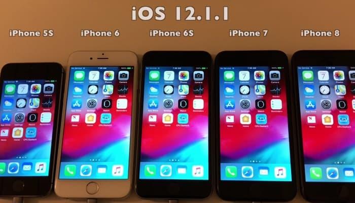 iOS 12.1.1 Battery Life