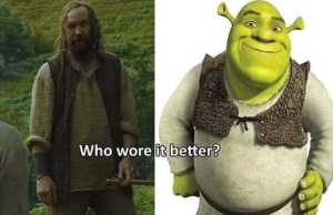 Game Of Thrones' And 'Shrek' Comparison