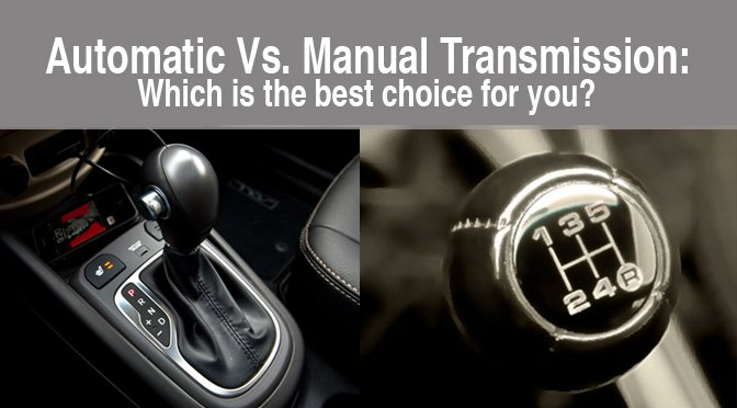 Manual Transmission Is Better Than An Automatic Car