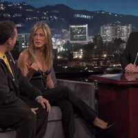 Jennifer Aniston & Adam Sandler on Friendship At The Jimmy Kimmel Live