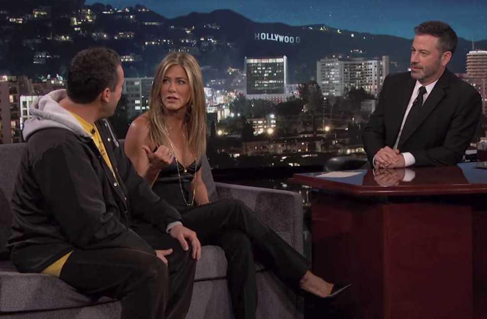 Jennifer Aniston & Adam Sandler