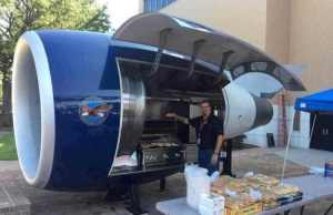 Jet Engine Barbeque