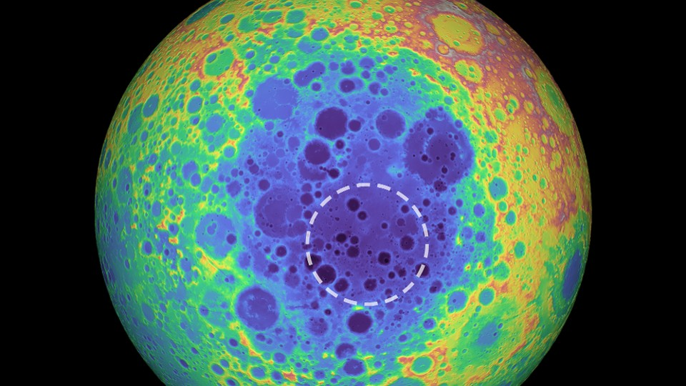 Moon's Largest Crater