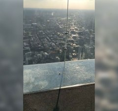 Chicago's Iconic Glass Floor SkyDeck