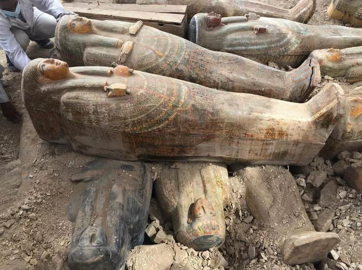 Egyptian-coffins