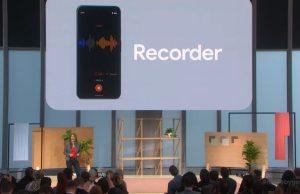 Google's New Audio Recorder