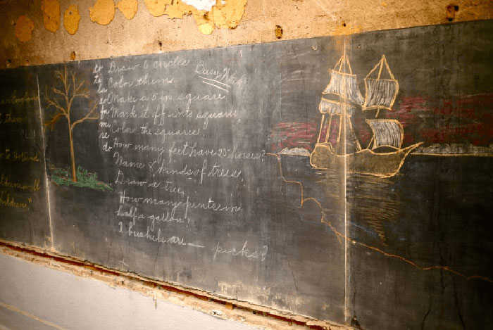 100 Years Old Chalkboards
