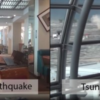 Terrifying Footage from Sendai Airport During 9.0 Earthquake and 2011 Tsunami