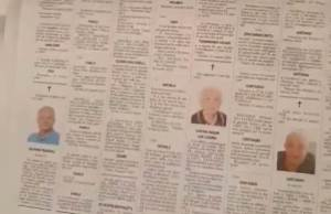 Italian Obituary Notices