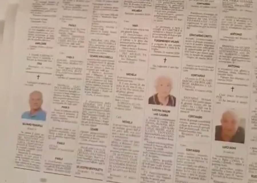 Italian Obituary Notices