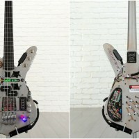 'Back to the Future' Time Machine Bass Guitar