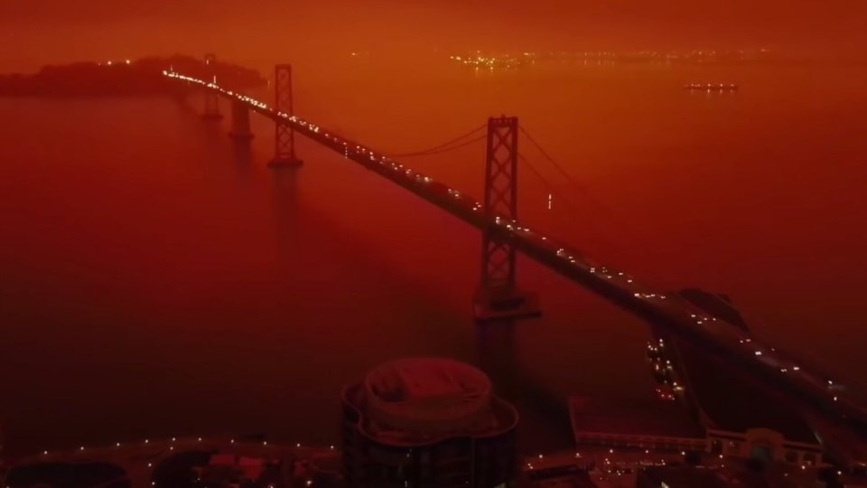 Fires in San Francisco