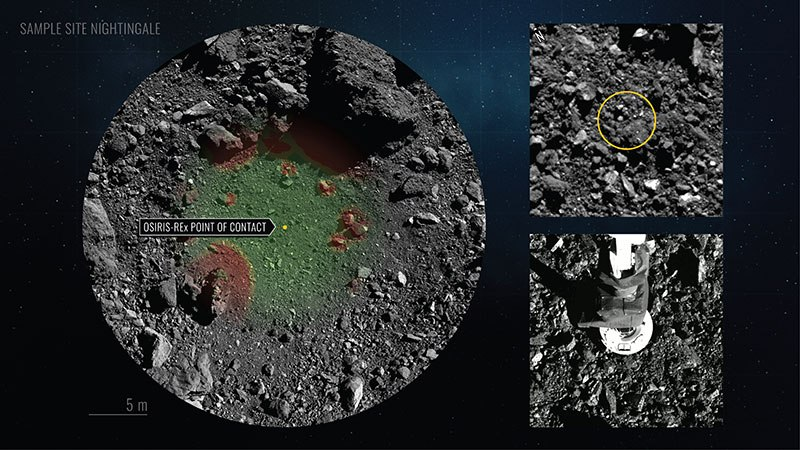 NASA Landed a Spacecraft on an Asteroid